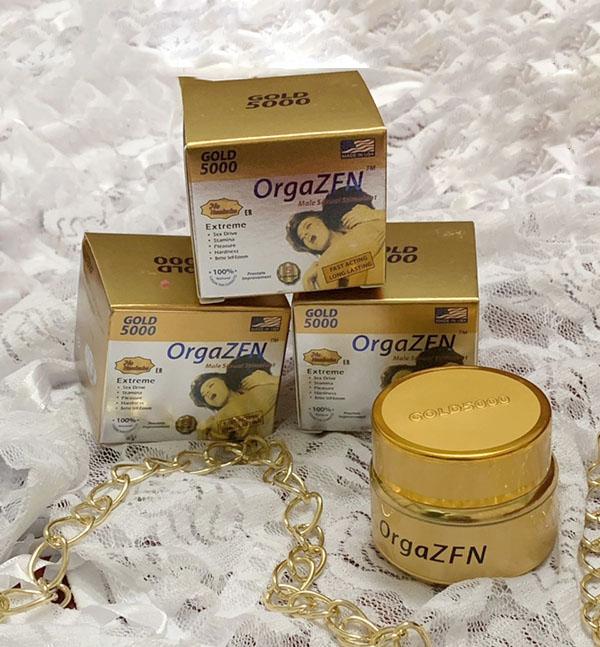 Thảo dược cường dương nhanh Gold 5000 OrgaZFN (12 viên)